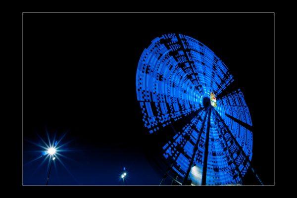Luminance 2016_Patrick SELOSSE_Fête foraine, la nuit_1