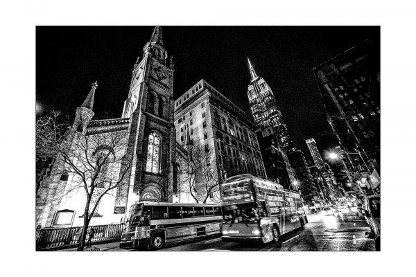 Luminance 2017_Patrice KESSOURI_New York City la nuit_1